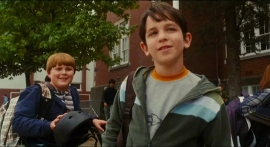 Robert Capron and Zachary Gordon in Diary of a Wimpy Kid