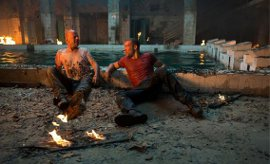 Bruce Willis and Jai Courtney in A Good Day to Die Hard