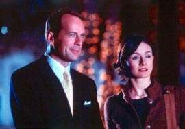 Bruce Willis and Emily Mortimer in Disney's the Kid