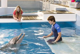 Cozi Zuehlsdorff and Nathan Gamble in Dolphin Tale 2