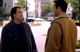 John Travolta and Vince Vaughn in Domestic Disturbance