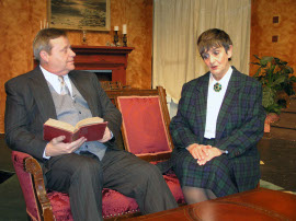 Don Hazen and Dee Canfield in The Mousetrap