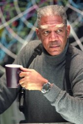Morgan Freeman in Dreamcatcher