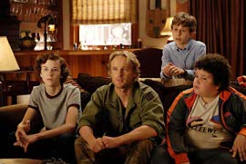 Nate Hartley, Owen Wilson, David Dorfman, and Troy Gentile in Drillbit Taylor