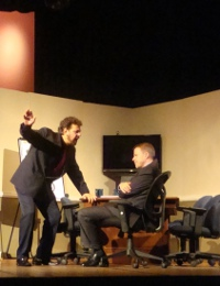 Brad Ingersoll and Don Faust in The Tragedy of Sarah Klein