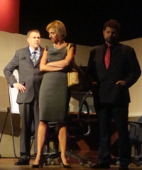 Don Faust, Alexa Florence, and Brad Ingersoll in The Tragedy of Sarah Klein