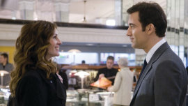 Julia Roberts and Clive Owen in Duplicity