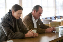 Charlize Theron and Tommy Lee Jones in In the Valley of Elah