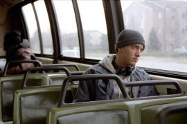 Eminem in 8 Mile
