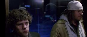 Jesse Eisenberg and Jason Segel in The End of the Tour