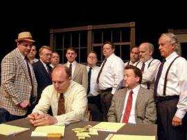 the 12 Angry Men ensemble