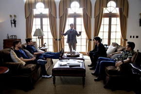 Jerry Ferrara, Kevin Connolly, Jeremy Piven, Adrian Grenier, and Kevin Dillon in Entourage