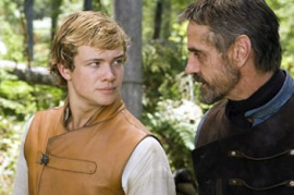 Ed Speleers and Jeremy Irons in Eragon