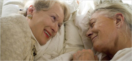 Meryl Streep and Vanessa Redgrave in Evening