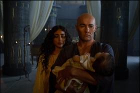 Golshifteh Farahani and Joel Edgerton in Exodus: Gods & Kings