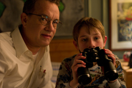 Tom Hanks and Thomas Horn in Extremely Loud & Incredibly Close