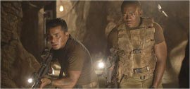 Jacob Vargas and Lee Thompson Young in The Hills Have Eyes II