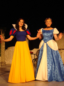 Kelly Lohrenz and Cara Chumbley in A Fairy Tale Christmas