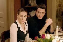 Sarah Jessica Parker and Dermot Mulroney in The Family Stone
