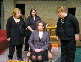 Judy Luster, Lisa Kahn, Jan Golz, and Pamela Crouch in The O'Conner Girls
