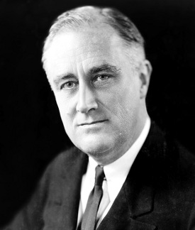 Franklin D. Roosevelt in 1933