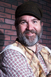 Marc Ciemiewicz as Tevye in Fiddler on the Roof