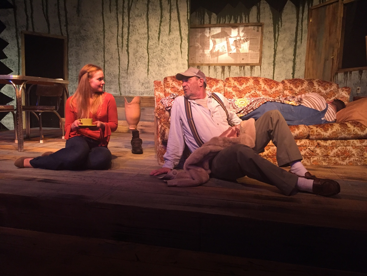 Abby Van Gerpen, Pat Flaherty, and Brant Peitersen in Buried Child