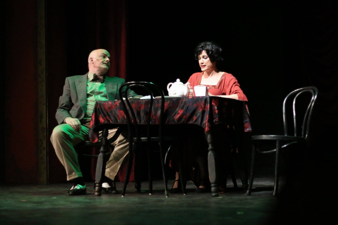 John B. Boss and Saundra Santiago in 'Gypsy'