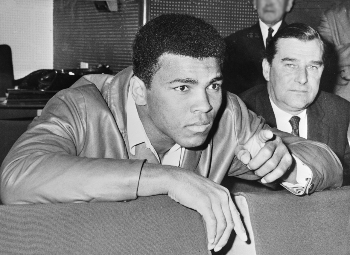 Muhammad Ali in 1966. Photo from the Dutch National Archives, The Hague, Fotocollectie Algemeen Nederlands Persbureau.