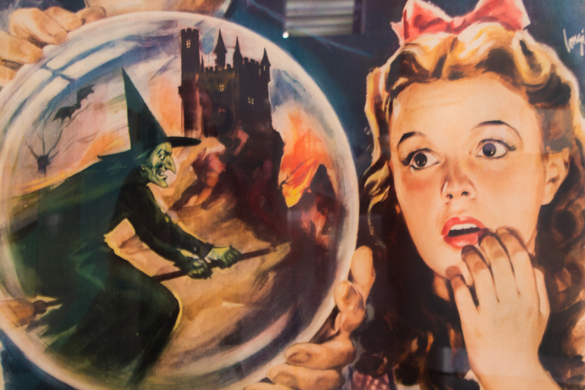Image from the Figge exhibit The Wonderful World of Oz: Selections from the Willard Carroll/Tom Wilhite Collection