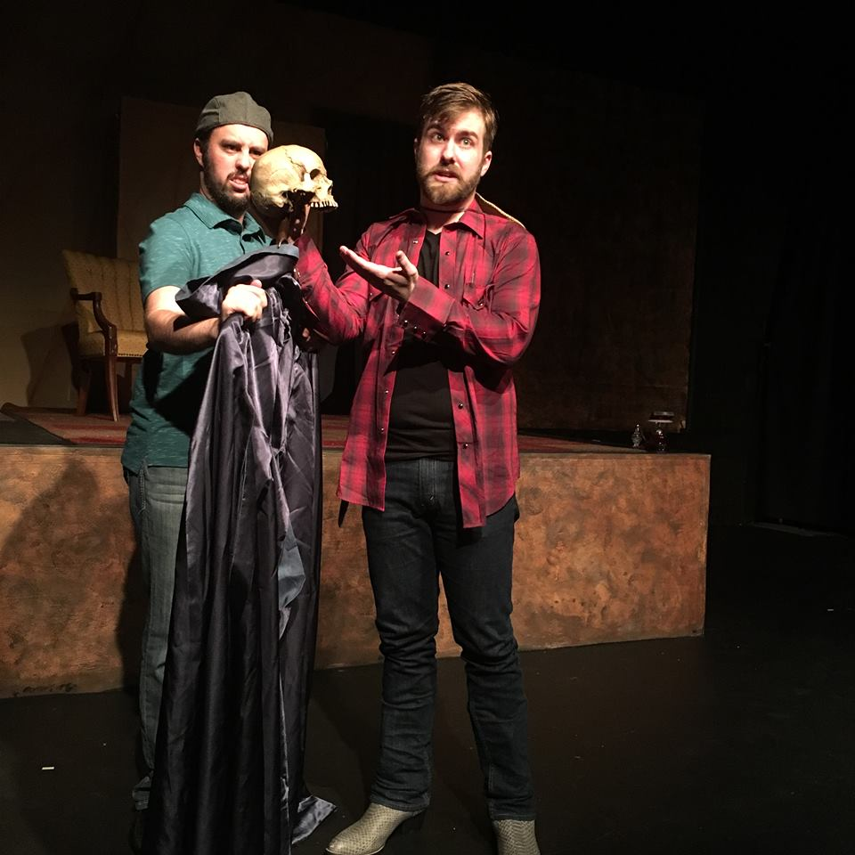 Andrew Slater and Andy Curtiss in The Revenger's Tragedy