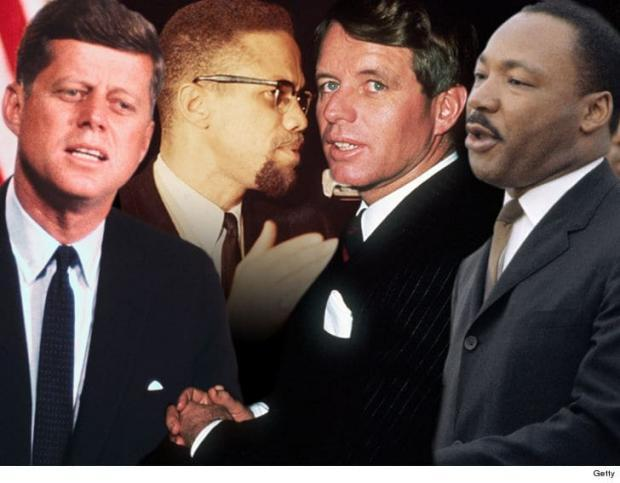 JFK Malcom X RFK MLK
