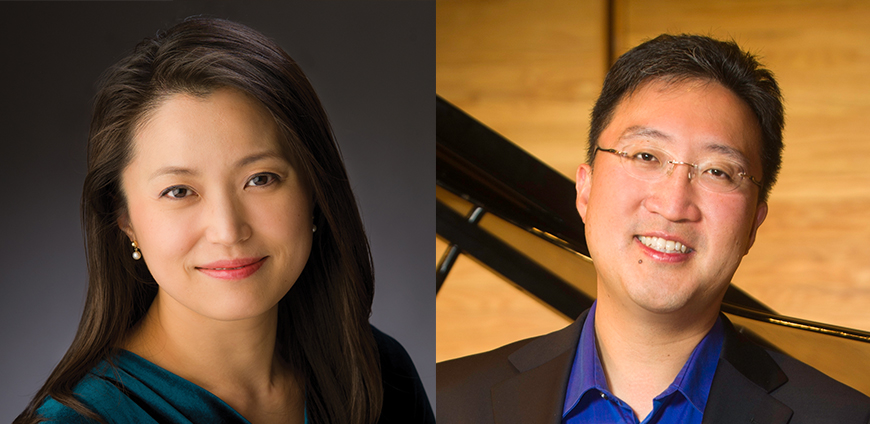 Kyung and Michael Kim in the Quad City Symphony Orchestra's Masterworks IV: Love -February 1 and 2.