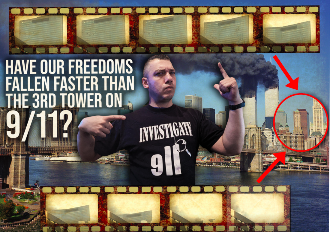Jason Bermas: Have our freedoms fallen faster than the 3rd tower on 9/11?