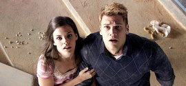 Haley Webb and Nick Zano in The Final Destination