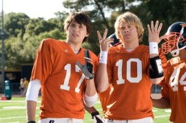 Nicholas D'Agosto and Eric Christian Olsen in Fired Up!