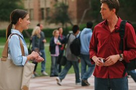 Katie Holmes and Marc Blucas in First Daughter