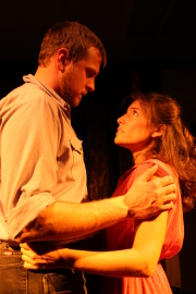Eddie Staver III and Kimberly Furness in Fool for Love