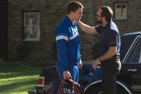 Channing Tatum and Mark Ruffalo in Foxcatcher