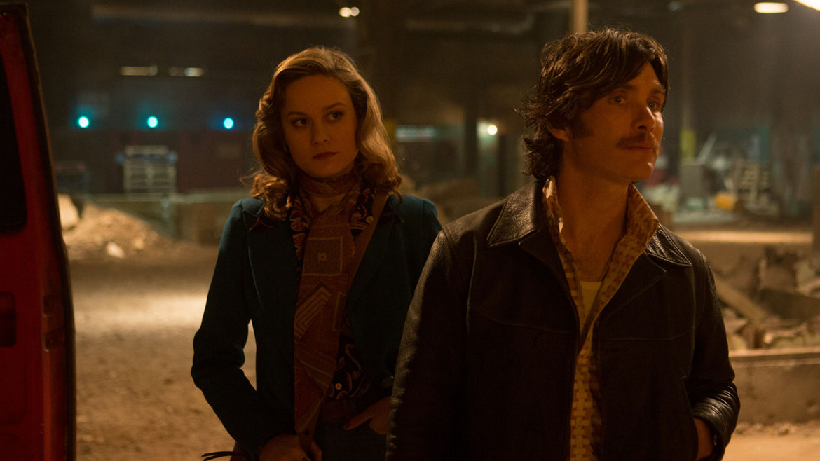 Brie Larson and Cillian Murphy in Free Fire