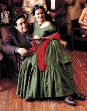 Alfred Molina and Salma Hayek in Frida