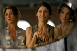 Jennifer Aniston, Catherine Keener, and Joan Cusack in Friends with Money