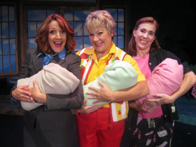 Deborah Kennedy, Karen Pappas, and Andrea Moore in Funny, You Don't Look Like a Grandmother