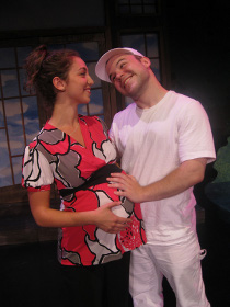 Rachel Schimenti and Will Aaron in Funny, You Don't Look Like a Grandmother