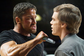 Gerard Butler and Michael C. Hall in Gamer