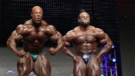 Phil Heath and Kai Greene in Generation Iron