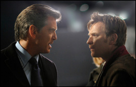 Pierce Brosnan and Ewan McGregor in The Ghost Writer