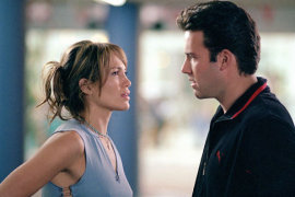 Jennifer Lopez and Ben Affleck in Gigli