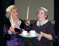 Wanda Deitrick and Jean Melillo in