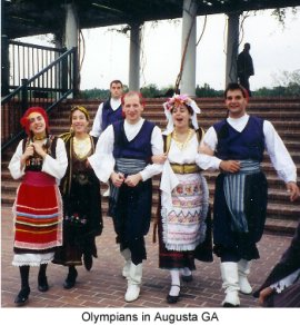 Olympian Greek Dance Troupe